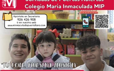 JORNADAS DE PUERTAS ABIERTAS INFANTIL, PRIMARIA Y ESO